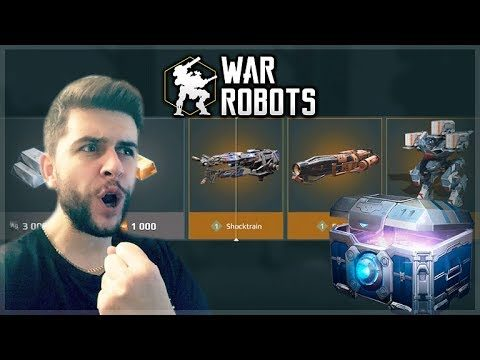 SPENDING 6000+ KEYS ON GOLD BLACK MARKET CHESTS! | War Robots