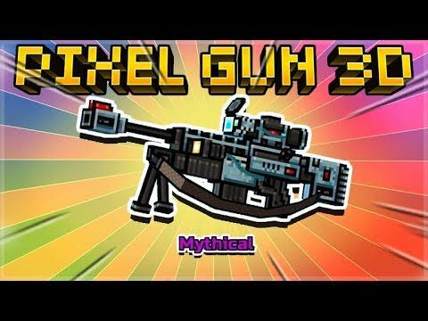 THIS WEAPON CAN SEE THROUGH WALLS! MYTHICAL OVERSEER SNIPER! | Pixel Gun 3D