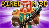 WE CRAFTED THE EPIC WITCHUNTER PRIMARY WEAPON! | Pixel Gun 3D