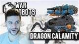 WE UNLOCKED DRAGON CALAMITY HEAVY WEAPON & IT'S A BEAST! | War Robots