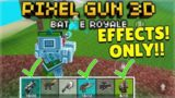 YOU CAN ONLY USE THE EFFECTS WEAPONS BATTLE ROYALE CHALLENGE! | Pixel Gun 3D