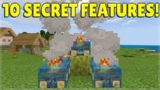10 Secret Things YOU Possibly DID NOT Know About Minecraft Village & Pillage Update