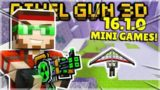BRAND NEW 16.1.0 UPDATE RELEASED! NEW FLYING & RACING MINI-GAME & WEAPONS | Pixel Gun 3D