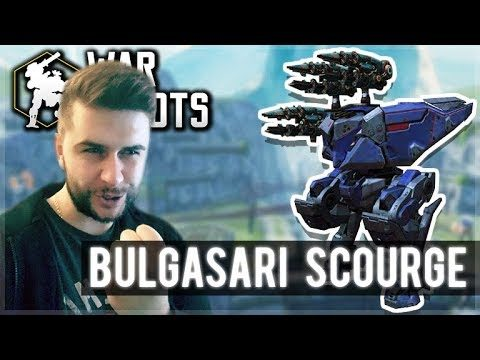 I PUT 3 SCOURGE ON MY BULGASARI ROBOT AND DOMINATED!! | War Robots