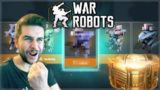 I UNLOCKED THE NEW SUPER CHEST & GOT THIS ROBOT! INSANE OPENING! | War Robots