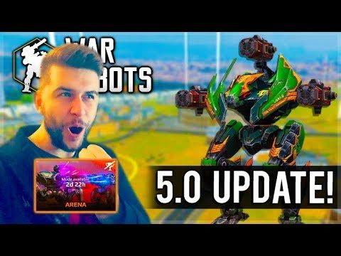 INSANE NEW GAME MODE ARENA WARS THE FIGHT FOR 1ST PLACE NEW UPDATE! War Robots