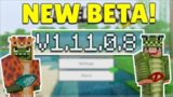 MCPE 1.11.0.8 BETA VILLAGE & PILLAGE! Minecraft Pocket Edition NEW Changes & Fixes