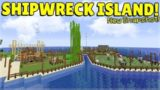MINECRAFT 1.14 – SHIPWRECK SURVIVAL ISLAND – NEW RAID CHANGES! (Dinnerbone Seed)