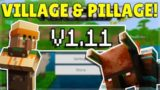 MINECRAFT PE/BEDROCK 1.11 VILLAGE & PILLAGE UPDATE! – OFFICIALLY Released!