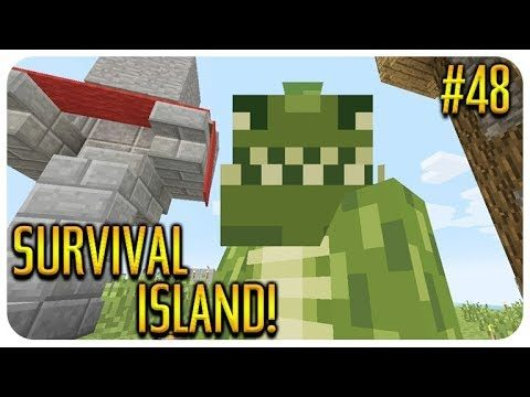 ✅MINECRAFT – SURVIVAL ISLAND – THE LOYALTY WALL!! Episode 48
