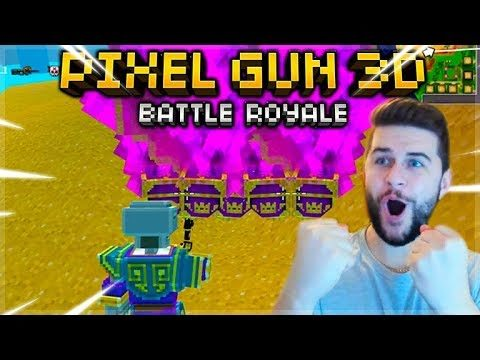 OMG! THIS CHALLENGE IS INSANELY HARD! AIR-DROPS ONLY BATTLE ROYALE | Pixel Gun 3D