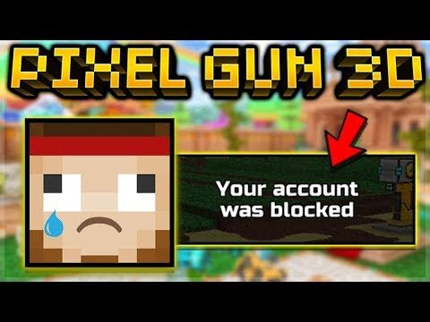 PIXEL GUN 3D BANNED 20,000 PLAYERS IN 1 DAY!!
