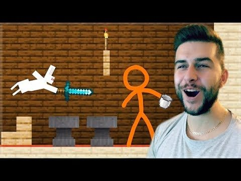 REACTING TO AMAZING ANIMATION Vs MINECRAFT!! – TNT LAND Vs STICKMAN Minecraft Animation