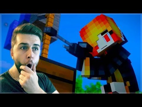 REACTING TO BATTLE ROYALE 2 MINECRAFT MOVIE! Minecraft Animations!