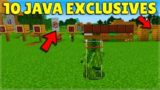 These Minecraft Village & Pillage FEATURES can ONLY be found ON Java Edition