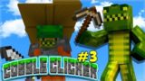 THIS SECRET CHEST SAVED US! Minecraft Cobble Clicker – Let's Play Skyblock Episode 3