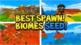 THIS SEED WON'T WORK FOR VERY LONG! Minecraft Perfect Biomes At Spawn! (MCPE, Xbox, Switch, PC)