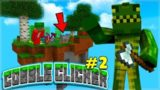 WE FOUND A COBBLE CREEPER! Minecraft Cobble Clicker – Let's Play Skyblock Episode 2