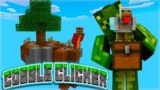 WE NEED COBBLESTONE! Minecraft Cobble Clicker – Let's Play Skyblock Episode 1