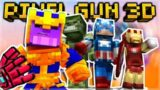 AVENGERS ENDGAME WEAPONS IN PIXEL GUN 3D