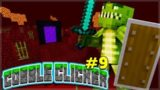 CREATING THE NETHER PORTAL! Minecraft Cobble Clicker – Let's Play Episode 9