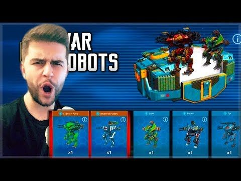 I OPENED 16 ANNIVERSARY EVENT CHESTS & UNLOCKED THIS! | War Robots