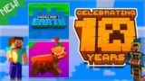 MINECRAFT IS 10 YEARS OLD TODAY! – NEW GAME REVEALED & NO CAVE UPDATE!