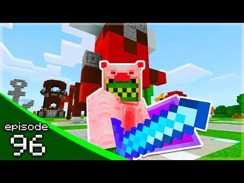 MINECRAFT PE BUILDING 67 STATUES!! – Soldier Adventures Season 3 (96)