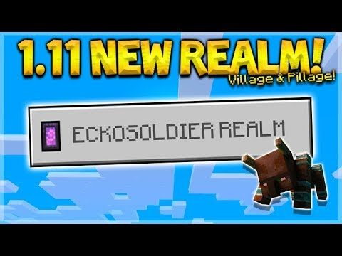 MINECRAFT PE/BEDROCK 1.11 REALM! – NEW Village & Pillage Update! (Sub Realm)