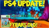 Minecraft PS4 – VILLAGE & PILLAGE UPDATE COMING NEXT WEEK & 7 YEARS OF 360 MINECRAFT!