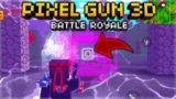 NEW TELEPORTER LOCATIONS & MAP LOCATIONS 400 BATTLE ROYALE WINS! | Pixel Gun 3D