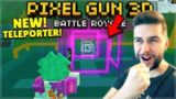 OMG! THEY ADDED NEW TELEPORTERS IN BATTLE ROYALE! 1 KILL = 1 50 KEY CHEST | Pixel Gun 3D