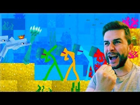 REACTING TO AMAZING ANIMATION Vs MINECRAFT!! – THE DOLPHIN KINGDOM Vs GUARDIANS Minecraft Animation