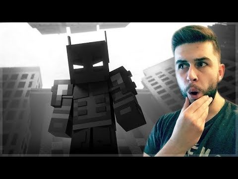 REACTING TO THE DARK HERO MINECRAFT MOVIE! Minecraft Animations Reaction!