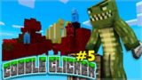 THE AUTO COBBLE CRUSHER! Minecraft Cobble Clicker – Let's Play Skyblock Episode 5