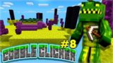 THE END SPAWNED IN THE OVERWORLD! Minecraft Cobble Clicker – Let's Play Skyblock Episode 8