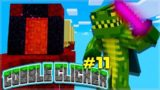 WE FOUND HIDDEN SECRETS!! Minecraft Cobble Clicker – Let's Play Episode 11